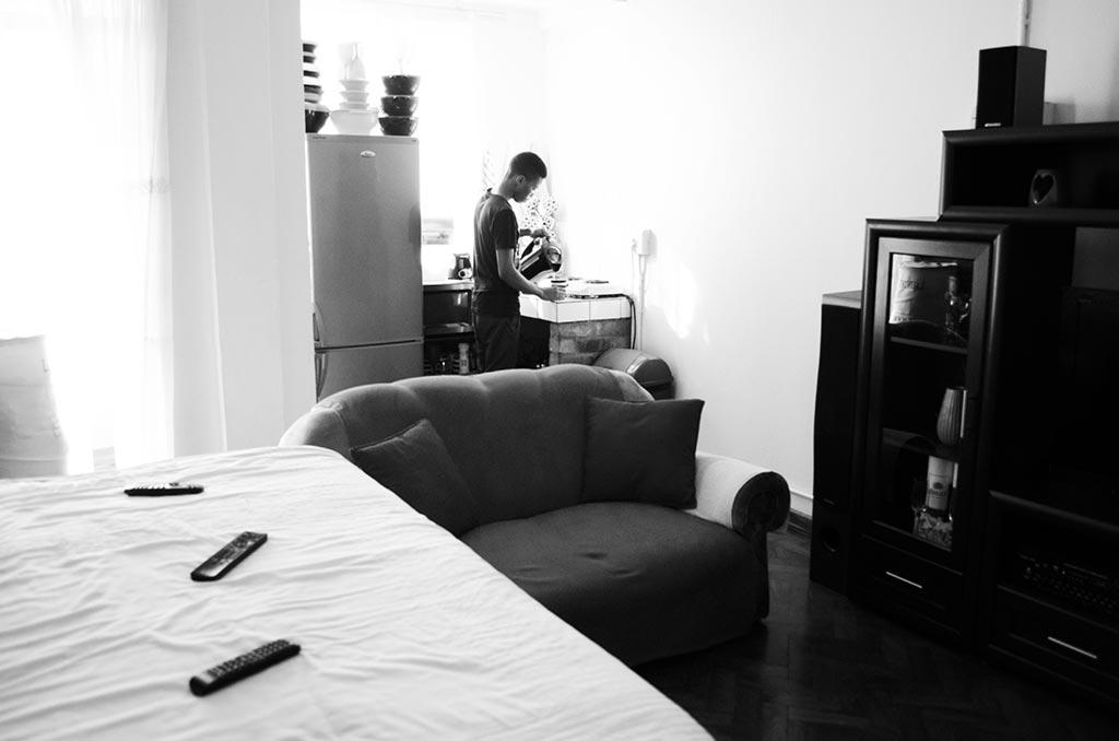 Allenby apartment interior