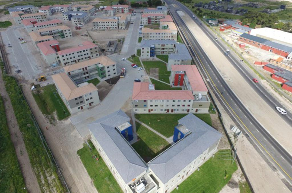 Belhar Gardens Aerial View