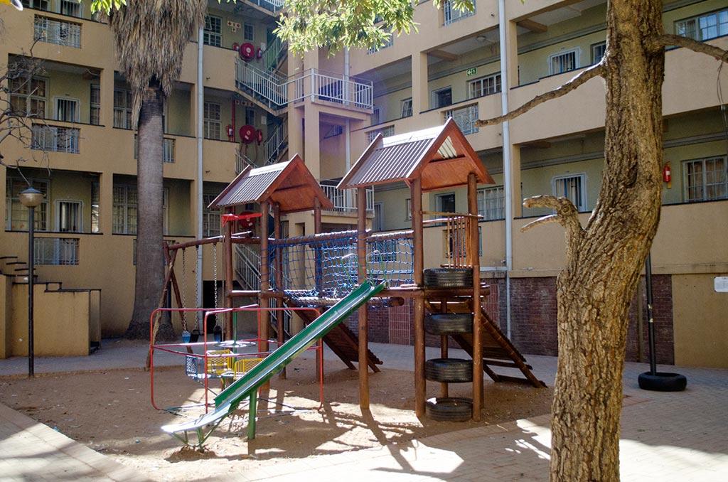 BG Alexander housing estate playground