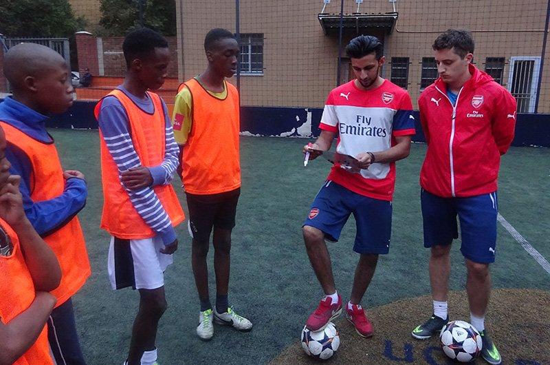 Community soccer team