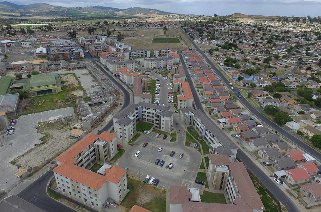 Scottsdene - aerial view